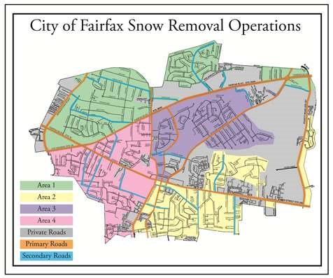 Snow Removal Route Map