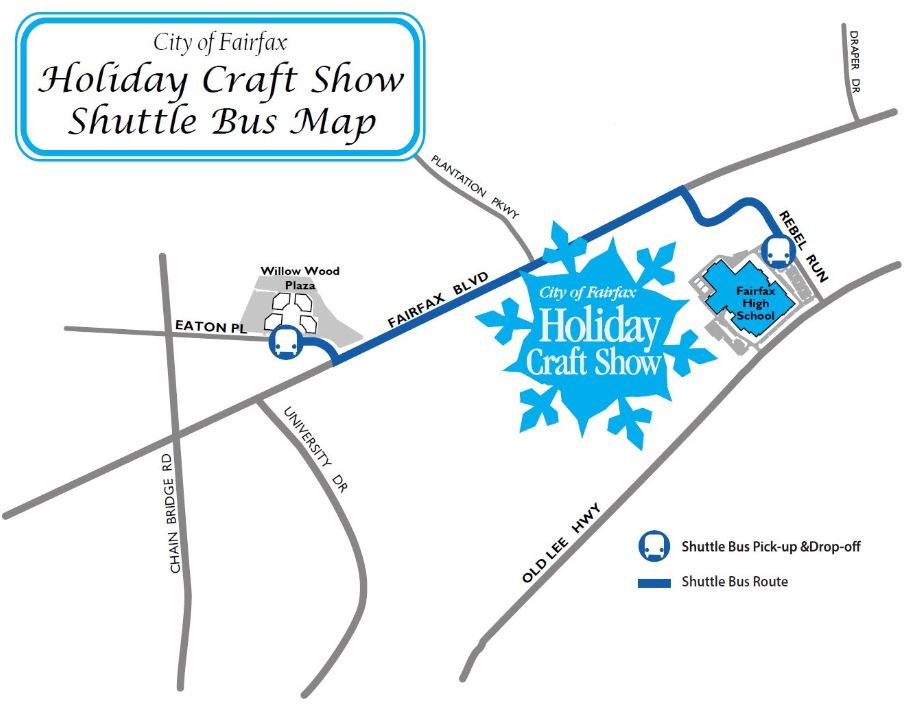 Shuttle Bus Map