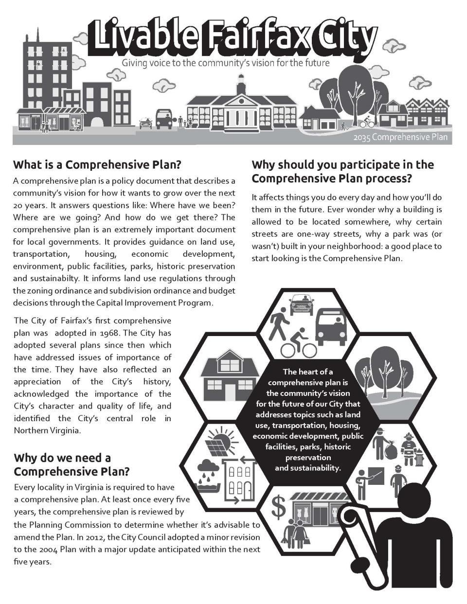 summary of what a comprehensive plan is and why it matters to the public