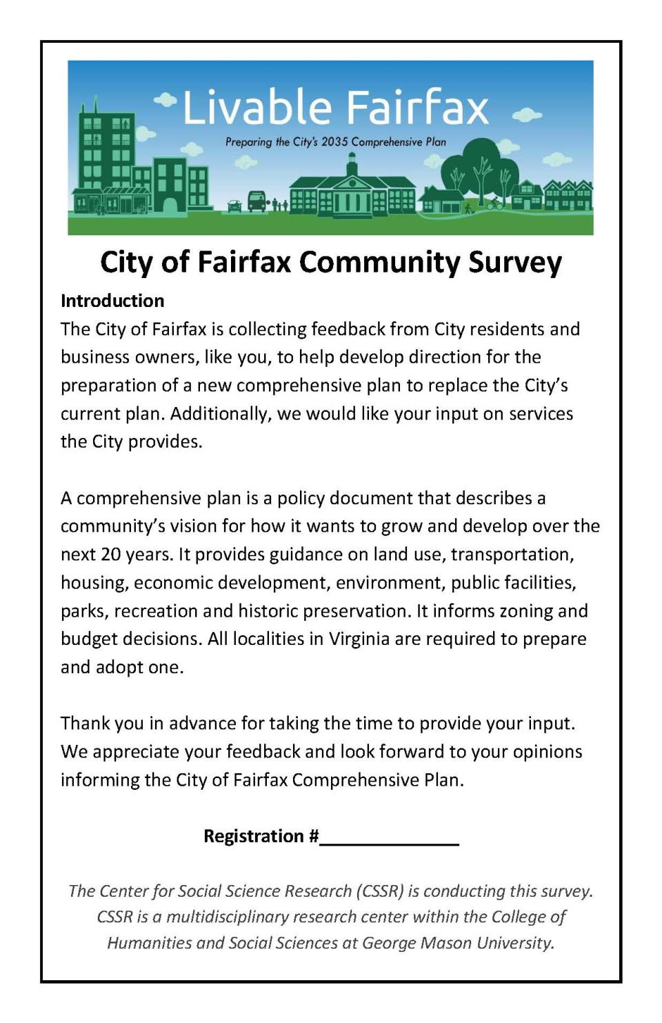 Cover of the Community Survey