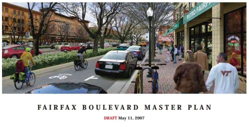 fairfax boulevard master plan cover