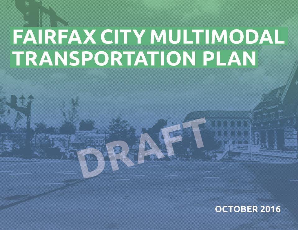 DRAFT Multimodal Plan cover