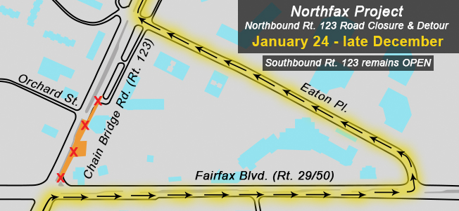 Northfax Road Closure - Homepage Collage 170117