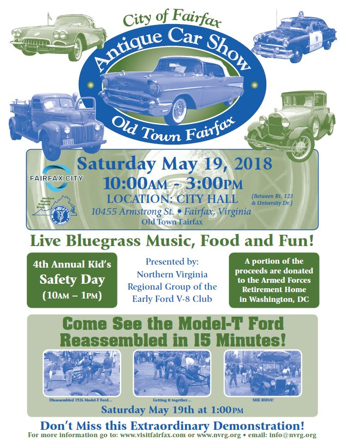 Antique Car Show City Of Fairfax VA - Old town car show 2018