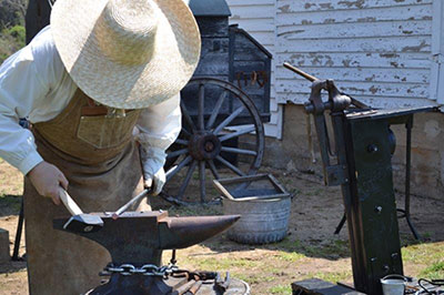 Fairfax History Day Blacksmithing