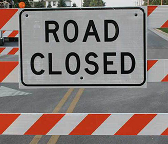 Route 50 Road Closure West of the City May Impact City Drivers 4/26-28