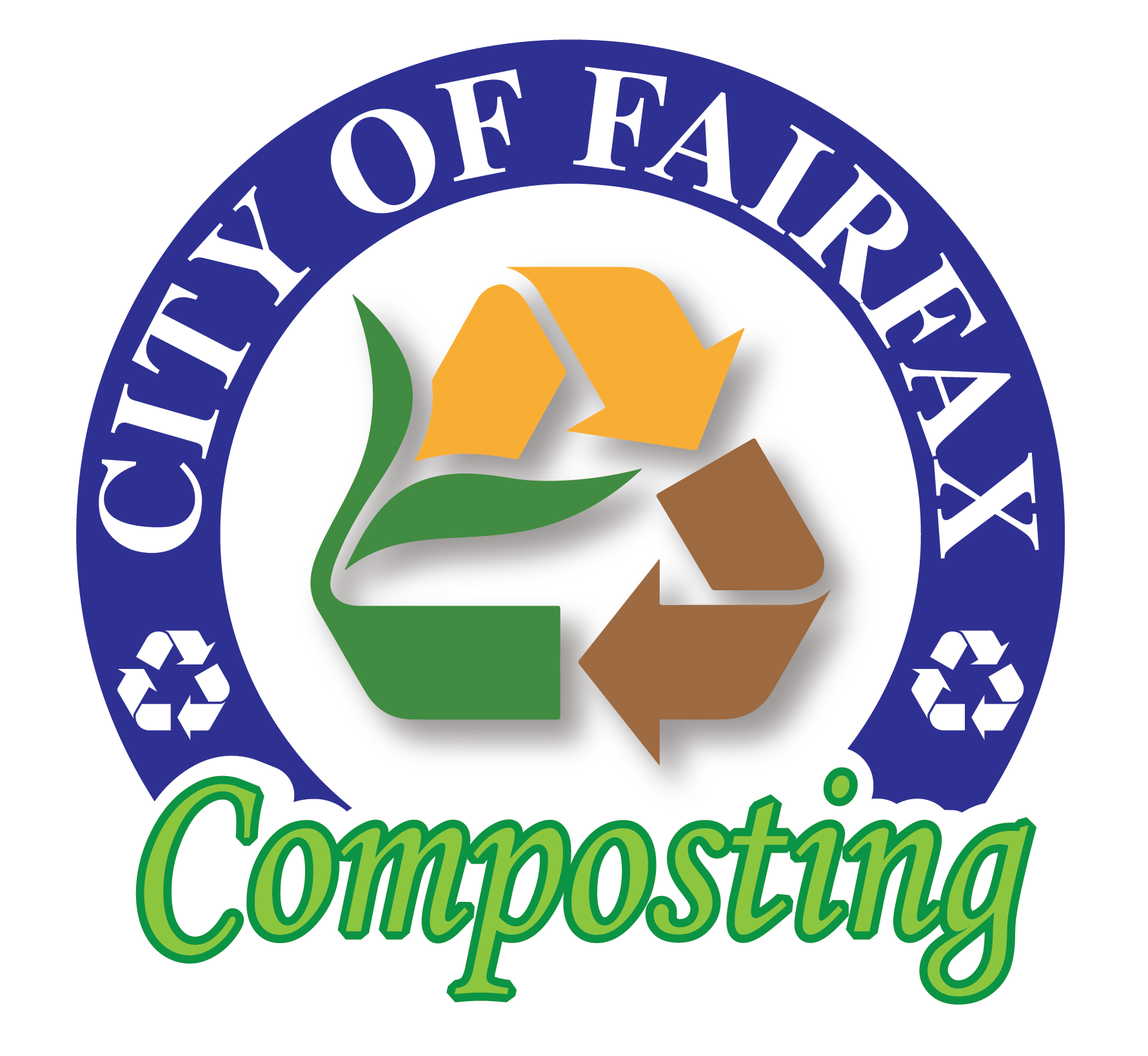 CITY OF FAIRFAX Composting logo