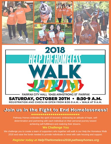Help the Homeless Walk October 20 2018