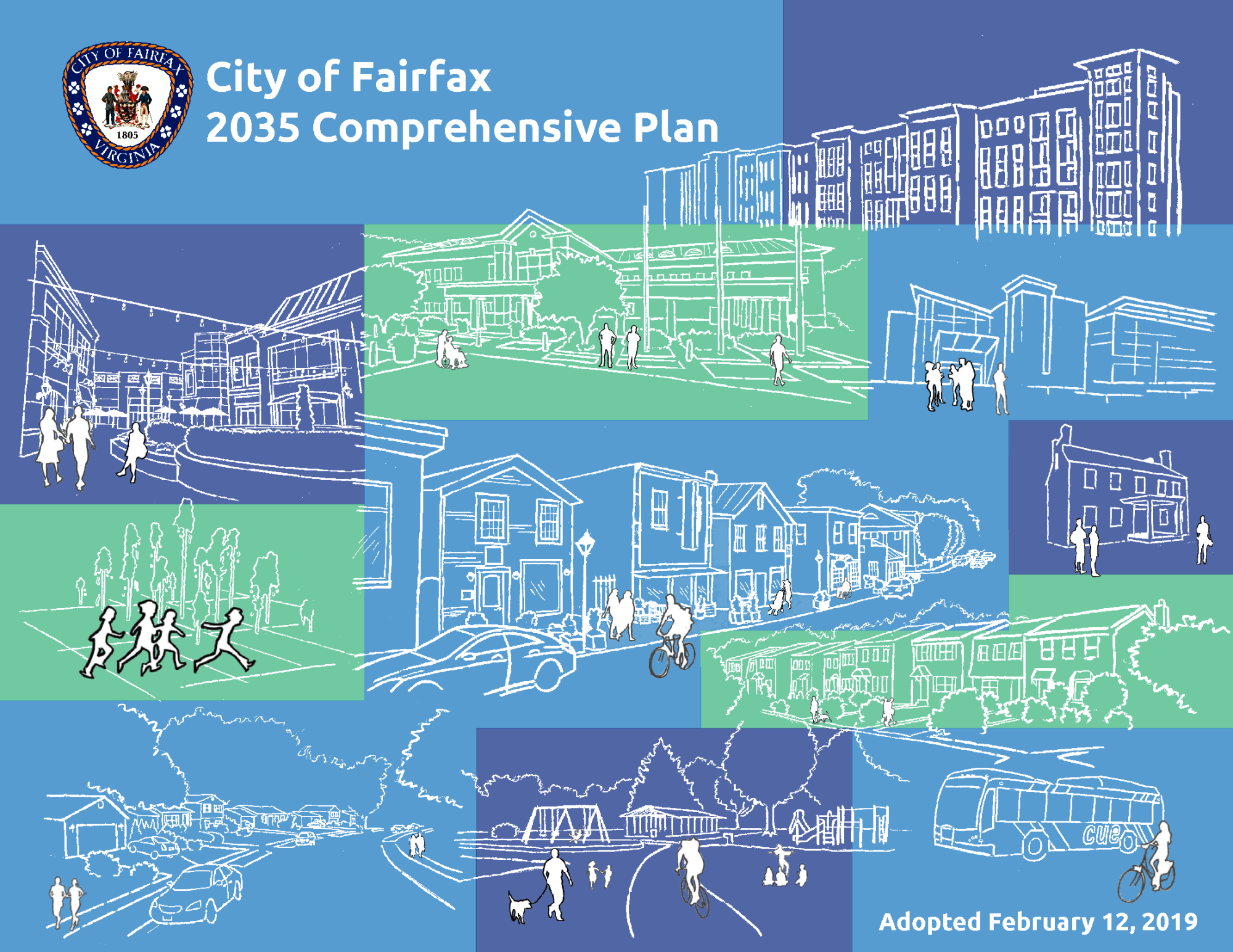 City of Fairfax 2035 Comprehensive Plan Cover
