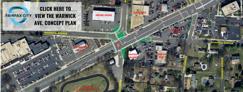 Warwick Ave._Fairfax Blvd._McLean Ave. Intersection Improvements