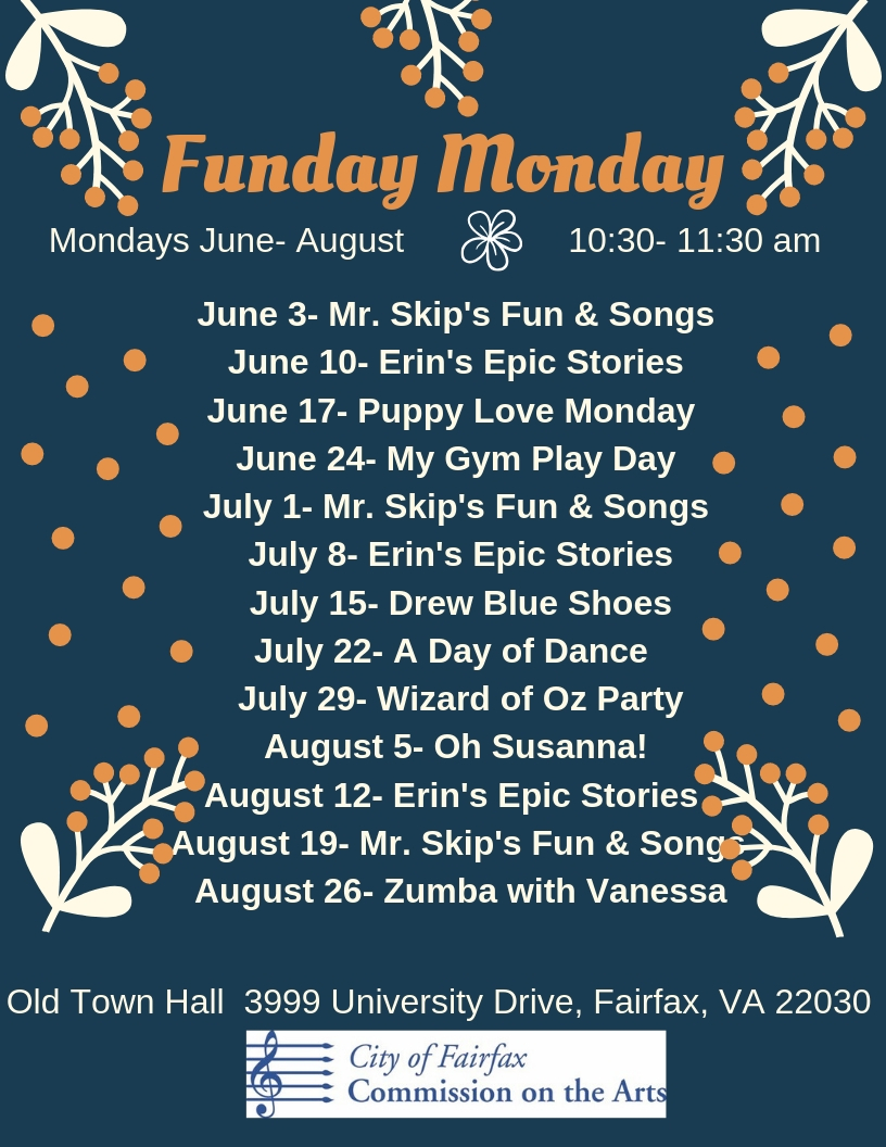 Funday Monday Summer 2019 Final