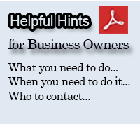Helpful Hints for Business Owners