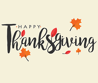 Holiday Closures: Thanksgiving Holiday