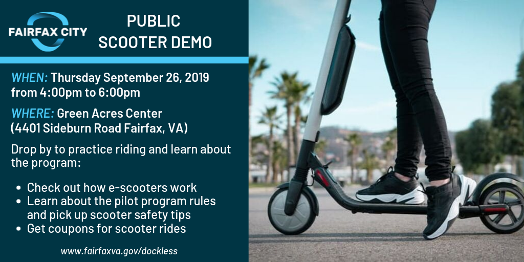 Green Acres Scooter Demo