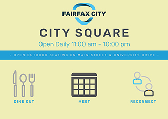 City Square graphic for new outdoor dining
