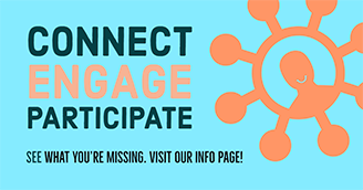 Connect Engage Participate graphic