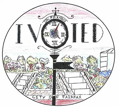 I voted sticker design