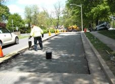 Milling and Paving on Armstrong Street Scheduled for April 1-2