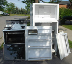 large items and appliances