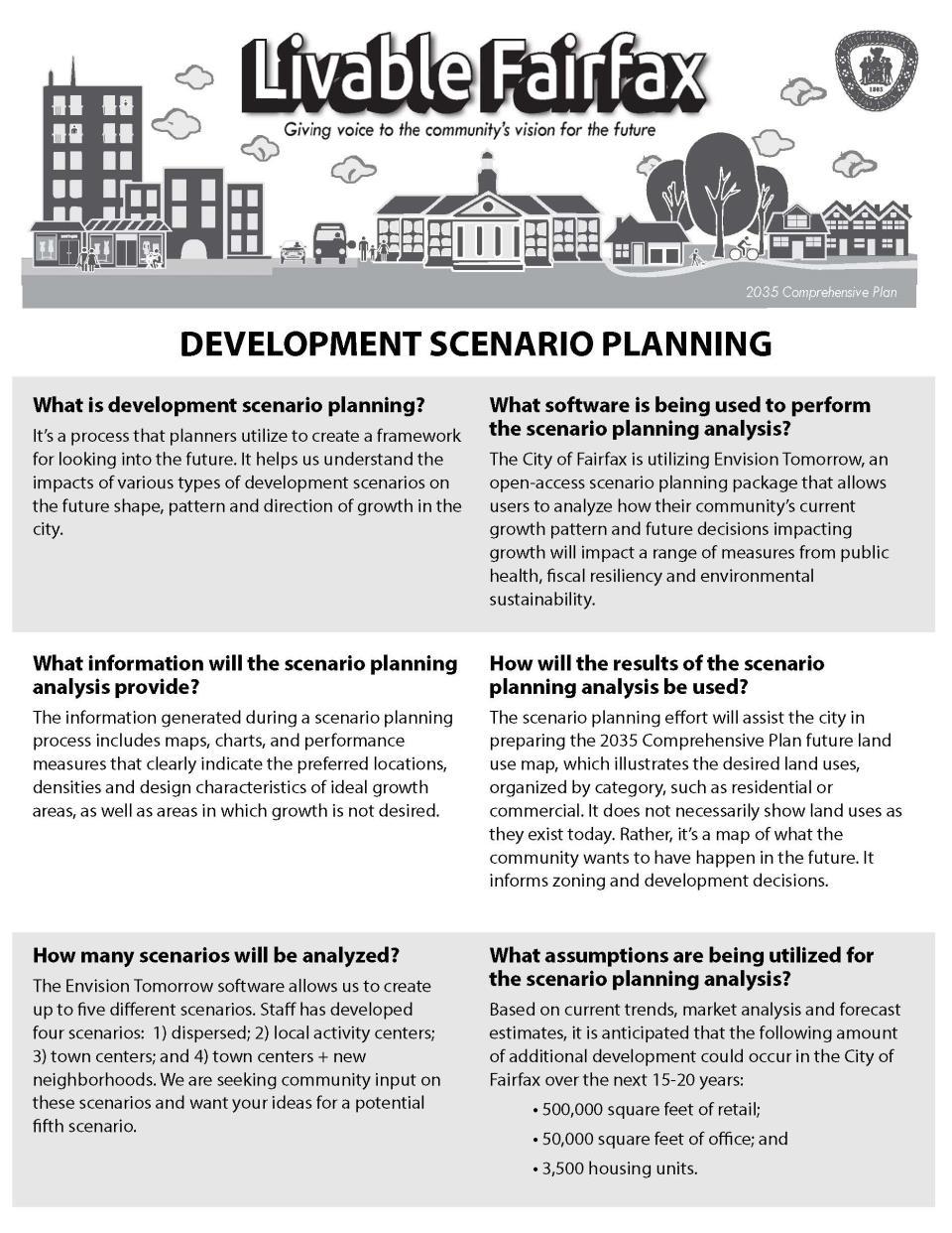 Future Scenario Planning   City of Fairfax, VA